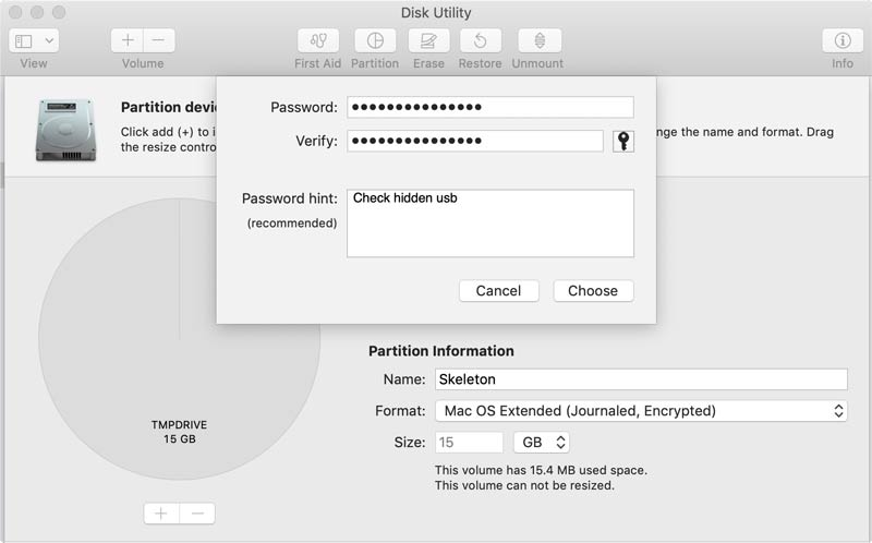 How to Encrypt a USB Drive with Disk Utility