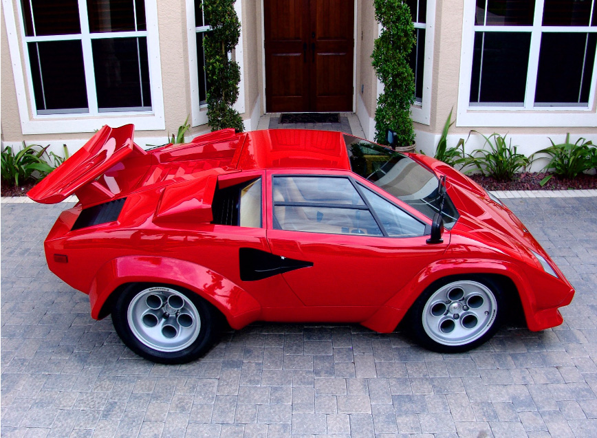Lamborghini Countach Smart Car Body Kit