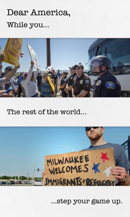 Dear America - Deport v Milwaukee