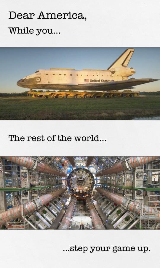 Dear America, Nasa v Hadron