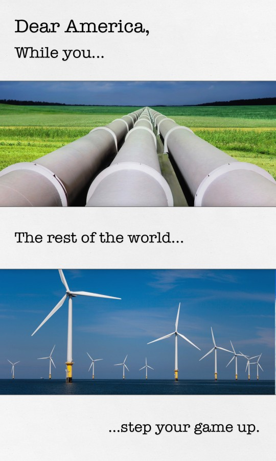 Dear America - Oil v Wind