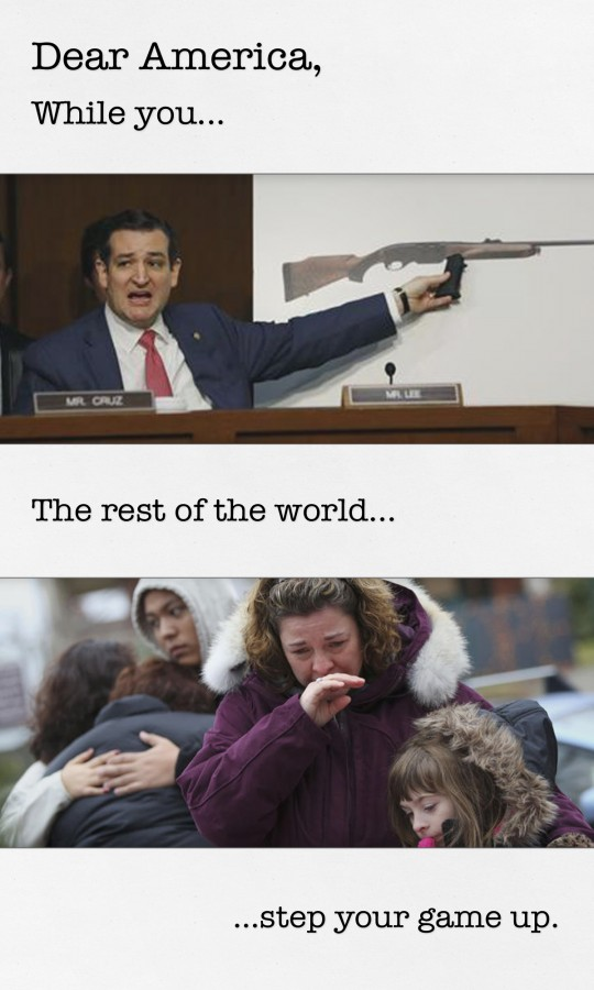 Dear America - Sandy Hook v Cruz