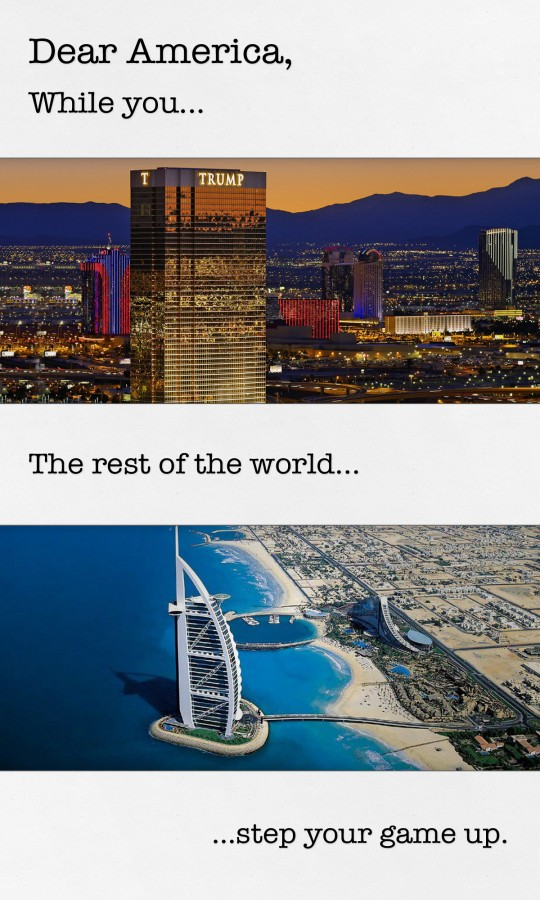 Dear America - Vegas v Dubai