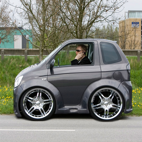 BMW Coupe Smart Car Body Kits