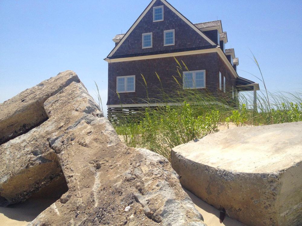 Side   Pea Island Outer Banks Coast Guard Station - Pea Island, NC